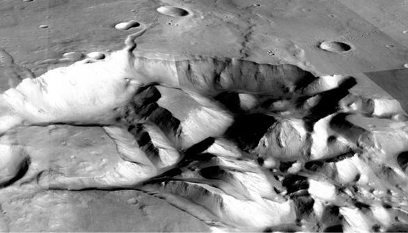 El origen de las grandes inundaciones de Marte