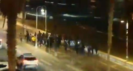 Violento asalto a la valla de Melilla: casi 90 inmigrantes acceden en un intento de 300