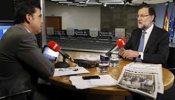 Rajoy celebra los