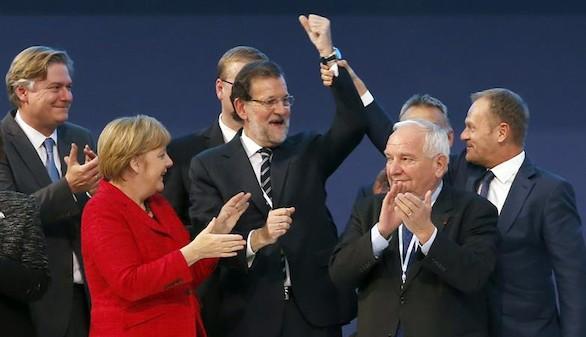 Merkel agradece a Rajoy haber