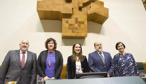 El Partido Popular se queda fuera de la Mesa del Parlamento Vasco