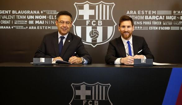 Messi despeja dudas: renueva hasta 2021 con 700 millones de cláusula