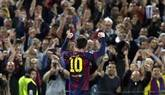 Un genial Messi acerca al Barça a la final