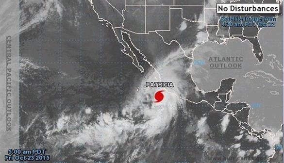 Máxima alerta ante la llegada a México del huracán