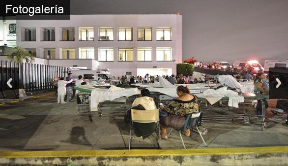 Aumentan a 90 los muertos en México tras un terremoto de 8,2 grados