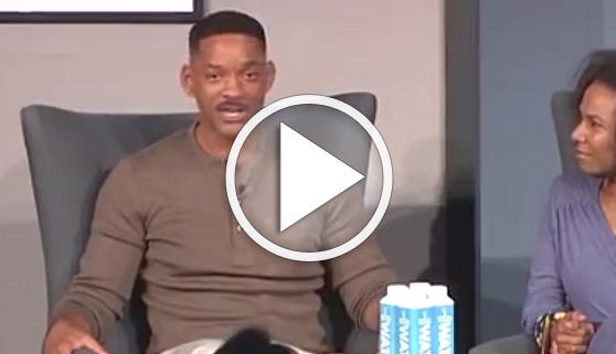 Vídeos virales. El miedo de Will Smith