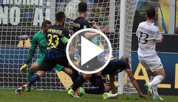 Milan-Inter. El primer 'derbi chino' acaba en tablas