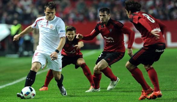 Mirandés y Las Palmas buscan la sorpresa ante Sevilla y Valencia