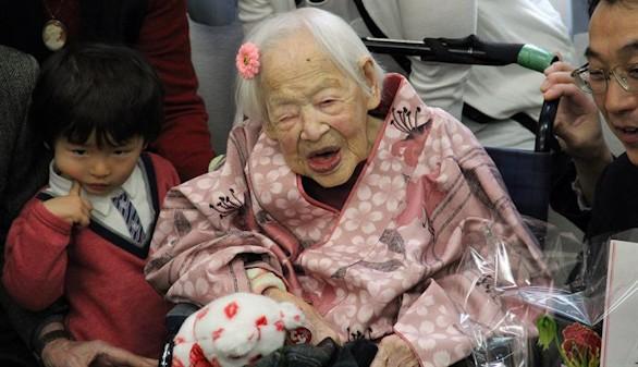 Fallece a los 117 años en Japón la persona más vieja del mundo