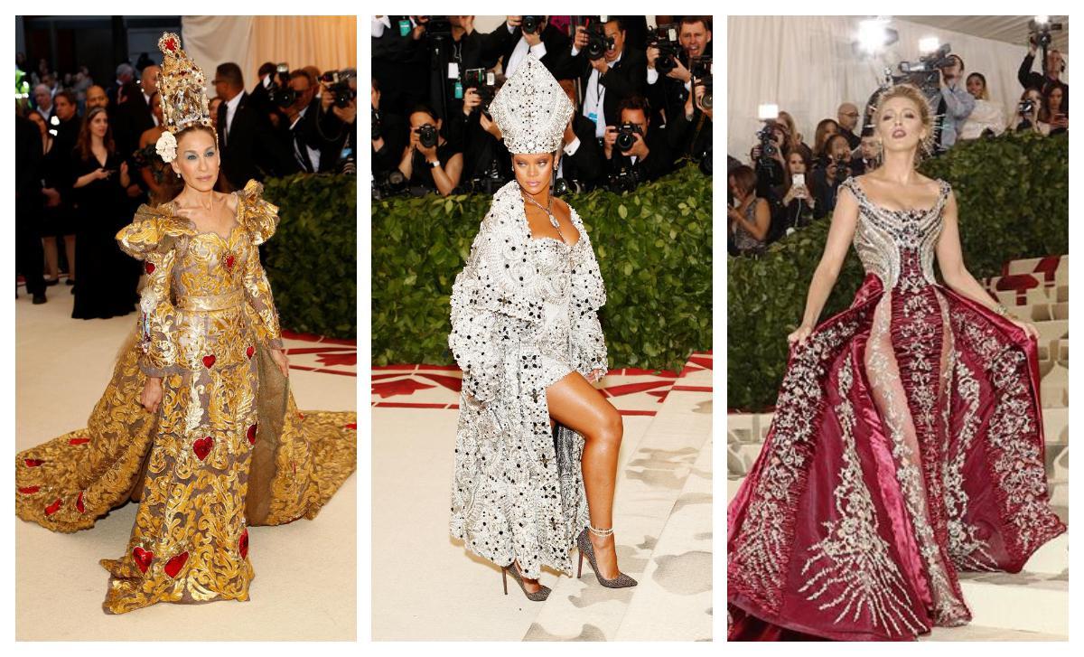 La alfombra roja de la gala Met 2018: moda inspirada en el catolicismo
