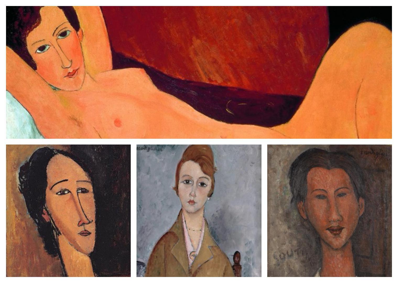 Una exposición mostró en Génova obras de Modigliani