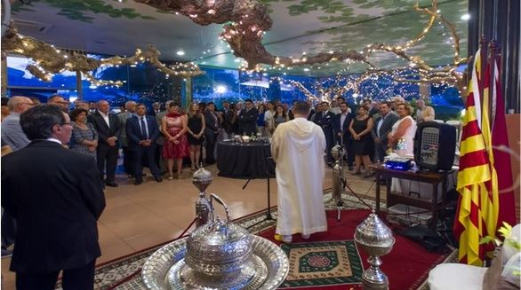 Tarragona celebra la decimoctava Fiesta del Trono del rey Mohamed VI