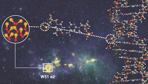 La molécula PO, un paso hacia el origen de la vida en el universo