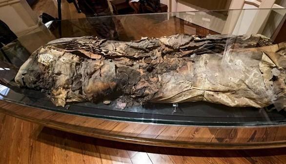 La momia 8 aporta indicios de suicidios rituales en los nobles canarios