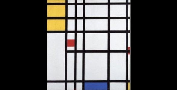 La abstracción geométrica de Mondrian, en una exposición en el Museo Reina Sofía