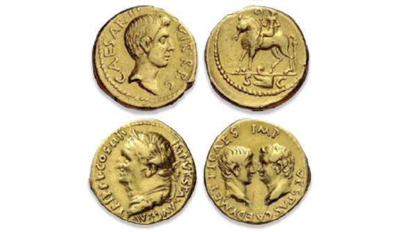 Recuperadas tres monedas del Imperio Romano valoradas en 200.000 euros