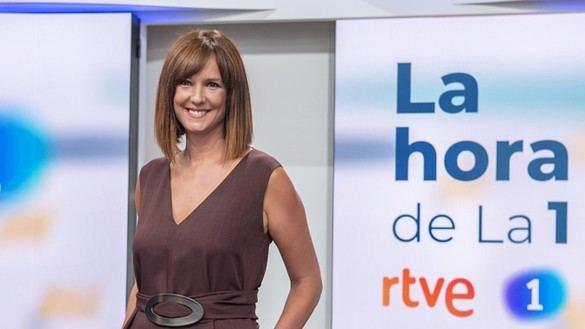 Mónica López deja de presentar 'La hora de la 1' de TVE