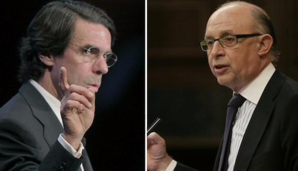 Aznar denuncia la filtración de sus datos tributarios