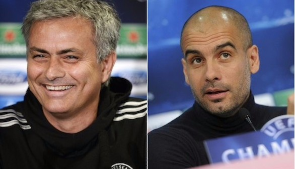 Guardiola y Mourinho volverán a verse las caras en Manchester
