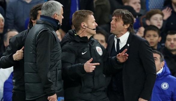 Premier League. Inglaterra se escandaliza ante la discusión entre Mourinho y Conte