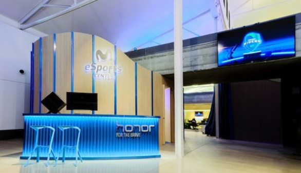 Movistar inaugura su ciudad deportiva de eSports en Madrid