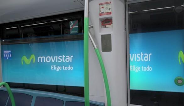 El Metro de Madrid, uno de los primeros en exhibir publicidad LED en sus túneles gracias a Telefónica
