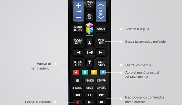 Telefónica comienza a comercializar Movistar TV integrado en las Smart TV de Samsung