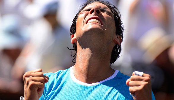 Nadal, en las semifinales de Indian Wells tras tumbar a Nishikori