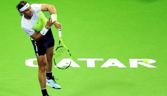 Nadal sufre para batir a Kuznetsov en su camino hacia semifinales