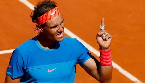 El mejor Nadal aparece y defenderá título en Madrid