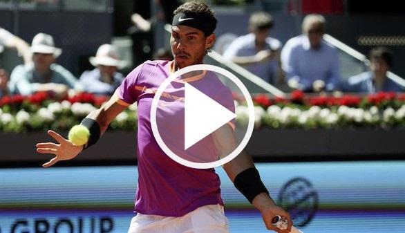 Masters de Madrid. El mejor Nadal alecciona a Djokovic y es finalista   6-2/6-4