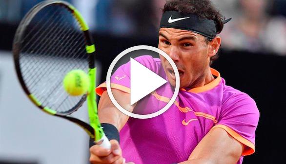 Masters de Roma. Nadal, Muguruza y Djokovic avanzan en el Foro Itálico