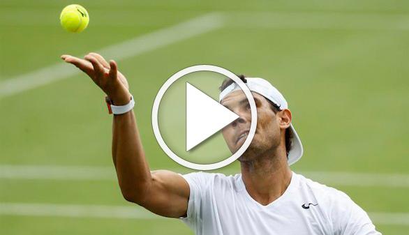 Wimbledon. Nadal se cruzaría con Murray en semis y con Federer o Djokovic sólo en al final