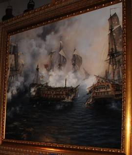 El último combate del Glorioso se incorpora al Museo Naval