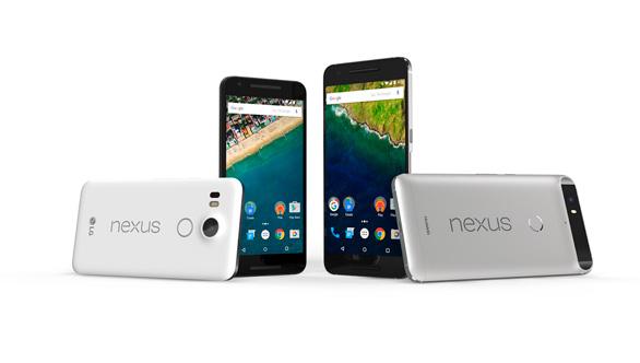 Novedades de Google: Nexus 5, Nexus 6P y la tableta Pixel C