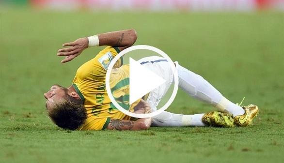 Neymar narra su angustia tras la entrada que estuvo a punto de dejarle paralítico