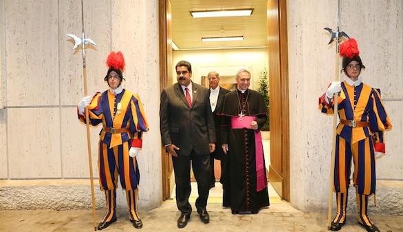 El Papa se reúne en privado con Maduro para hablar de Venezuela