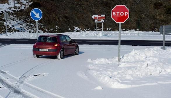 Rebajan a 10 las provincias en alerta por nieve