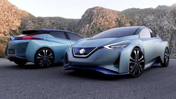 Nissan IDS Concept: conducción autónoma