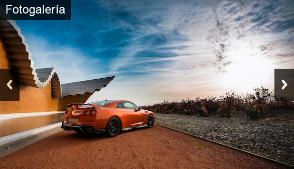 Motor. El Nissan GT-R 2017 conquista el norte de España