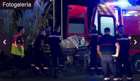 Las imágenes de la masacre que golpeó Niza el 14 de julio