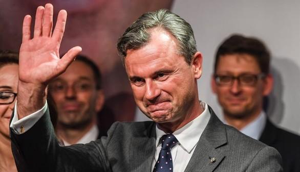 El ultraderechista Hofer, a punto de tomar el poder en Austria