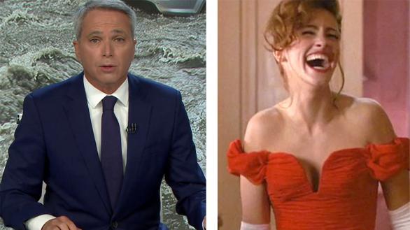 Vicente Vallés impulsa a Antena 3 y Pretty Woman seduce en Telecinco