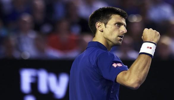 Djokovic, directo a su sexta final del Open de Australia