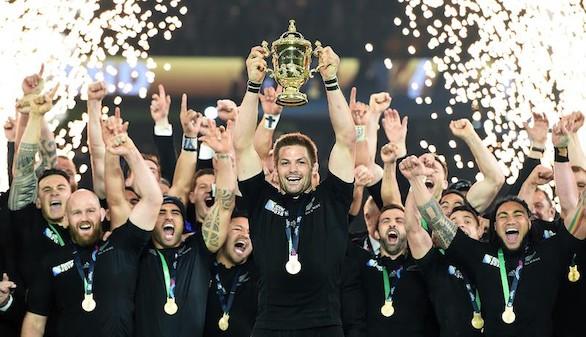 Nueva Zelanda entra en la historia con su segundo Mundial de rugby consecutivo