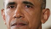 Las lágrimas de Obama
