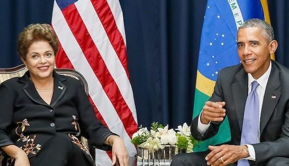 Obama busca desterrar las tensiones y potenciar el comercio en la visita de Rousseff