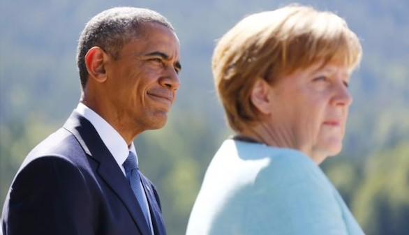 Obama conversa con Merkel para que Grecia siga en el euro