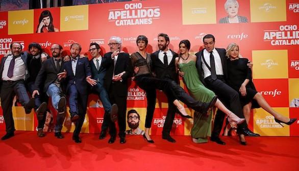 La recaudación del cine en España subió un 8,6% durante 2015