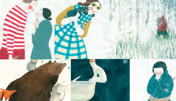 Ilustraciones de Elena Odriozola. www.pencil-ilustradores.com